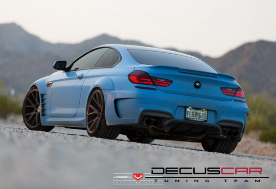 BMW 6er F12/F13/M6 Prior Design ''WideBody 6XX''