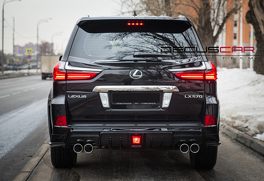 Lexus LX570 Artisan ''Black Label''